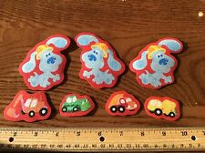 Blues Clues Fabric Iron On Appliques