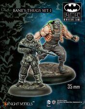 Bane Thugs Set 1 35mm Batman Miniature Game Knight Models Skirmish Tabletop DC