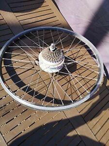 "36V 250W 26"" Electric Bicycle Motor Rear Wheel E Bike NEEDS SPOKES"