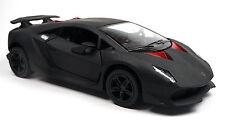 Lamborghini Sesto Elemento negro mate modelo de coleccionista aprox. artículo nuevo 13cm Kinsmart