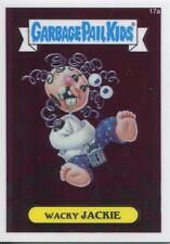 Garbage Pail Kids Chrome Series 1 Base Card 17a WACKY JACKIE