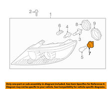 KIA OEM 11-15 Sorento-Headlight Headlamp Socket 921661U000
