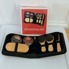 Shoeshine Kit 7 Pc New in Box Gift Shoe Care