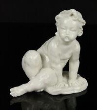 Capodimonte Bruno Merli Figurine Baby Boy Sitting MINT WorldWide