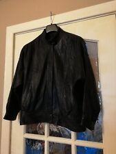 Vintage Bomber Leather Jacket Unisex