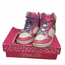 Pastry | Glam Pie| Pink, White, Silver and Purple Trainers | Size 7