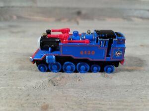 Belle 6120 Engine Thomas The Train Diecast Metal Take N Play 2010 Blue Red Tank