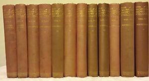 The Works of Henry Fielding (1898 - 12 Volume Uniform Edition Set)