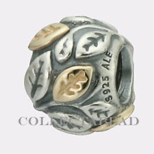 Authentic Pandora Sterling Silver & 14k Gold Tree of Life Bead 790429