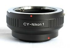 C/Y CY to Nikon 1 Mount Adapter S1 J1 J2 J3 V1 V2 Contax Yashica CY-N1