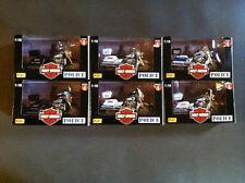 Toy Harley Davidson Series 4  Police 1:18 Set of 6 DIE CAST MOTORCYCLES