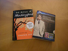 To Kill A Mockingbird by Harper Lee.Dvd & Hardcover Book.New