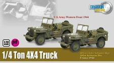 "Dragon Armor Jeep ""Truck, 1/4-Ton, 4x4"" Twin Pack~60505"