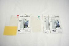 3X Clear Front+Back Screen Guard Cover Protector FULL BODY For APPLE iPhone 4 4S