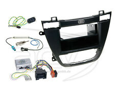 Opel Insignia ab08 2-din radio diafragma archivador volante adaptador Clarion negro