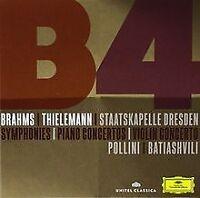 Brahms Sinfonien/Ouverturen/Klavierkonzerte von Batiashvil... | CD | Zustand gut