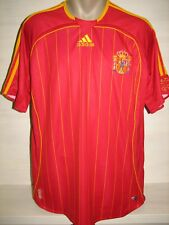 SPAIN 2005-07 HOME JERSEY SHIRT SIZE L