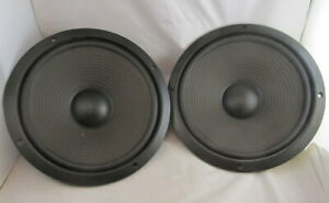 """PAIR OF PIONEER 12"""" 8 OHM WOOFERS 194398 WITH MOUNTING SCREWS"""