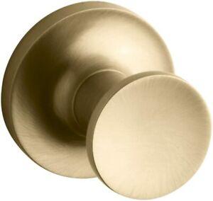 KOHLER PURIST 14443-BGD ROBE HOOK MODERNE BRUSHED GOLD NEW IN BOX