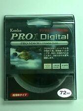 Genuine Kenko PRO1 Digital PRO ND8 (W) 72mm Filter
