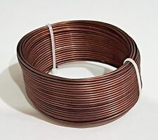 Japanese Bronze Colored Aluminum Bonsai Wire: 1.5 mm, 69 Feet Long