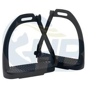 Black Peacock Safety Stirrups Stainless Steel Stirrups Black Stirrups