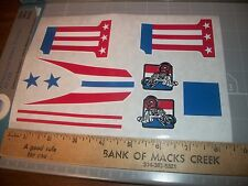 """EVEL KNIEVEL DRAGSTER CAR STICKERS"