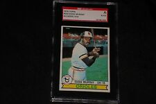 HOF EDDIE MURRAY 1979 TOPPS SIGNED AUTOGRAPHED CARD #640 ORIOLES SGC AUTHENTIC