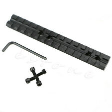 1Pc 20mm Rail Scope Mount 13 Slots Fit For Rifle Shotgun New