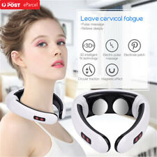 Electric Pulse Back Neck Massagers Heating Pain Relief Health Relaxation Tool