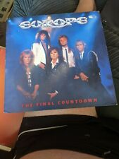 New listing RARE LP EUROPE THE FINAL COUNTDOWN MINT VINYL EPC 26808 EXCELLENT COVER INNERS