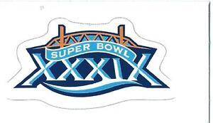 New England Patriots Super Bowl XXXIX Logo Decal
