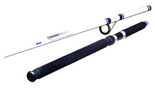 NEW Fishing Rod Pole TU100 Surf Glass 10ft Spinning Rods Okuma Tundra White Blue