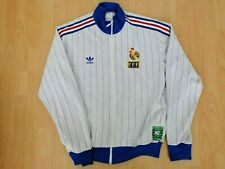 Frankreich Nationalmannschaft Retro Adidas Originals Jacke XL 1982 seltene Track...