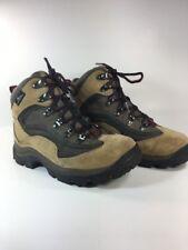 Columbia Bonanza Peak Womens US 6 EUR 37 Waterproof Ankle Hi Hiking Boot Tan EUC