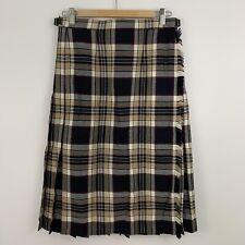 New listing Vintage Pitlochry of Scotland Womens Size 14 Wool Pleated Tartan Kilt Skirt