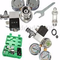 Magnetventil Co2 Druckminderer Manometer Sicherheitsventil Regler Aquarium Set