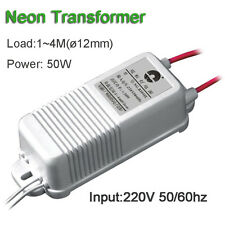 Neon Transformer 4000V30mA50W 4Meter Rectifier Power Supply High Voltage Lighter
