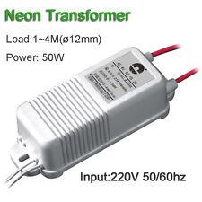 Neon Transformer 4000V30mA50W 4Meter Rectifier Power Supply High Voltage Lighter