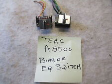 Teac A5500 / A5300 Bias or Eq tape select switch