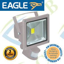 Grey 20 W LED Flood Light with PIR sensor and PIR Override Facility