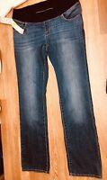 NWT Liz Lange Maternity Jeans Under Belly Cotton Size 8 Retail $38 Sale Sale
