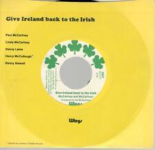 Wings: Give Ireland Back To The Irish ( McCartney & McCartney ), 7 in Record