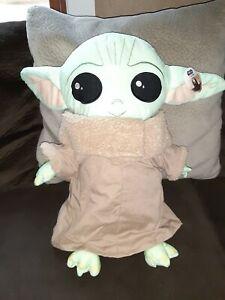 Disney Star Wars Mandalorian The Child Pillow Buddy W/Tag 18 Baby Yoda FAST SHip