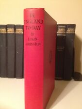 1931 In England Today By Lukin Johnston Travel Diary United Kingdom Exploration