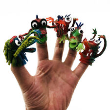 5pcs Ghost Finger Puppet Monster Puppet Kids Play Educational Story Hand Doll