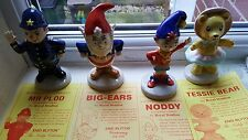 Royal Doulton Noddy, Big-Ears,Mr Plod and Tessie Bear.c/w certificates and boxes