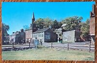 HARPERS FERRY WEST VIRGINIA VIEW OF RESTORED AREA SHENANDOAH ST POSTCARD Q19