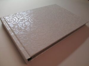 Handmade Photo Album Wedding & Special Occasions - White pattern