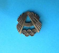 ALGERIA NOC - olympic games - olympics sport pin badge by Bertoni - Milano